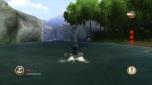 """Hiro em seu """"chapéu"""" no rio"""